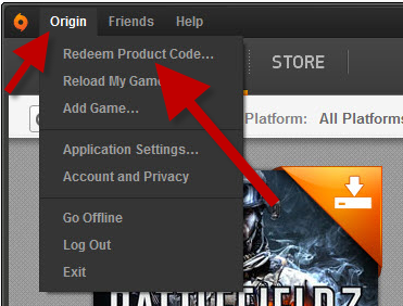 redeem origin code tutorial