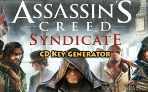 Assassins Creed Syndicate gratis CD nyckel