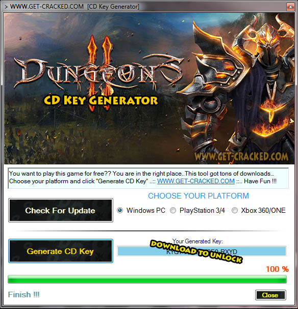 Dungeons 2 steam product code