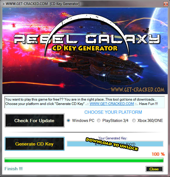 Rebel Galaxy Free CD Key