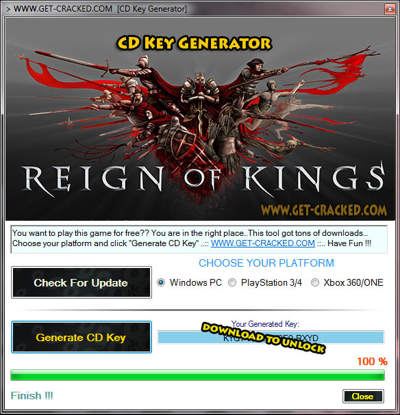 Reign of Kings keygen