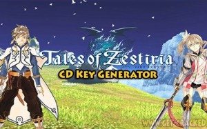 Tales of Zestiria gratis aktivering kodes