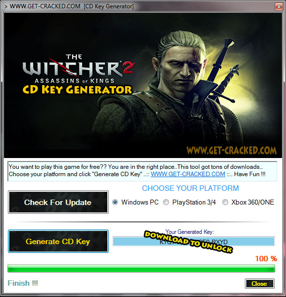 The Witcher 2 Assassins Kings Keygen