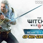 The Witcher 3: Cœurs de Pierre libre de clés d'activation
