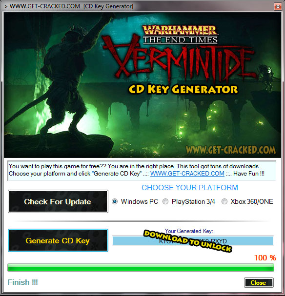 Warhammer: The End Times - Vermintide free product code