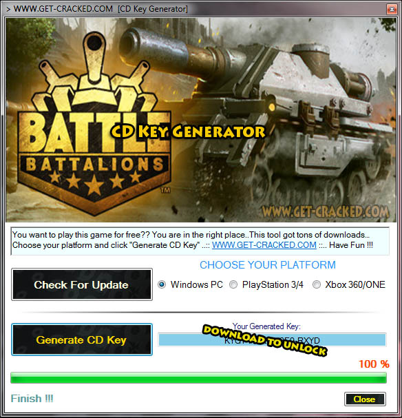 Battle Battalions cd key giveaway