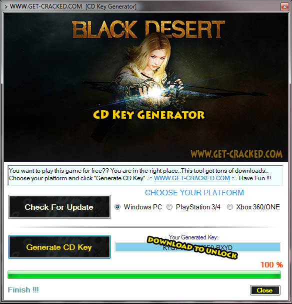 Black Desert free cd key giveaway