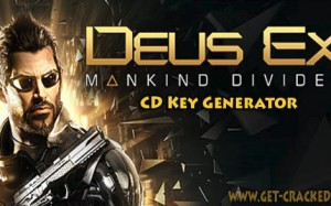 Deus Ex Mankind Divided Key generator tool
