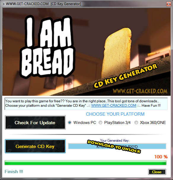 I Am Bread cd key giveaway