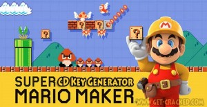 Super Mario Maker Free CD Key Generator