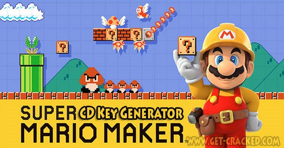 Super Mario Maker Key Generator Tool