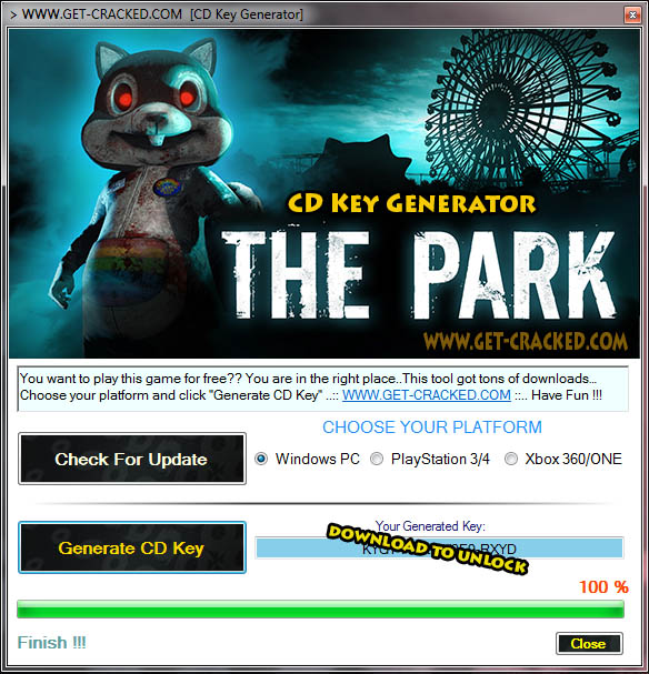 The Park free cd key