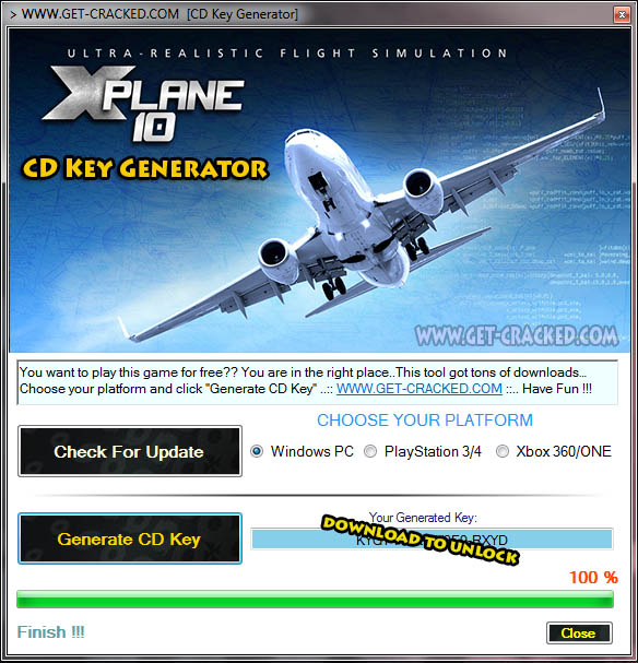X-Plane 10 Global free cd key giveaway steam