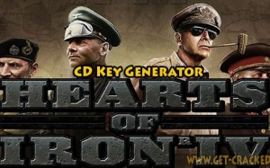 Hearts of Iron IV CD Key Generator 2016