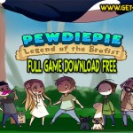 PewDiePie legenda Brofist download joc