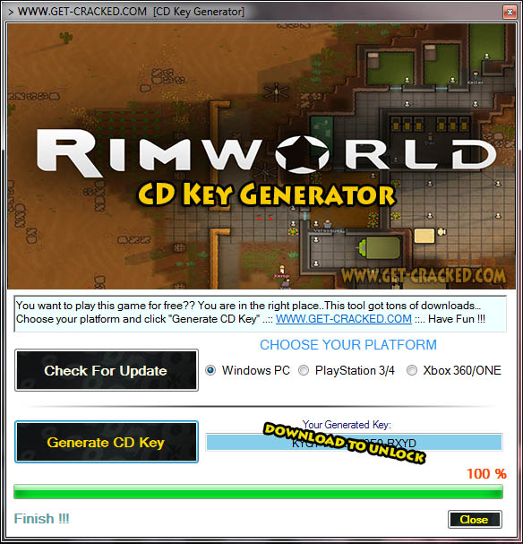 RimWorld cd key giveaway