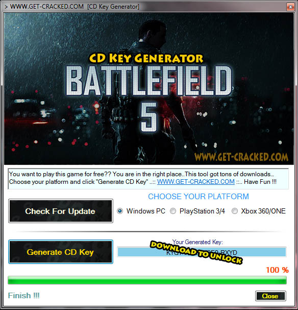 Battlefield 5 free cd key giveaway