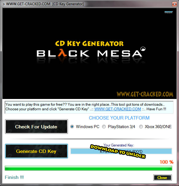 Black Mesa cd key giveaway
