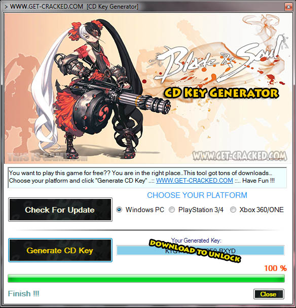 Blade & Soul cd key giveaway