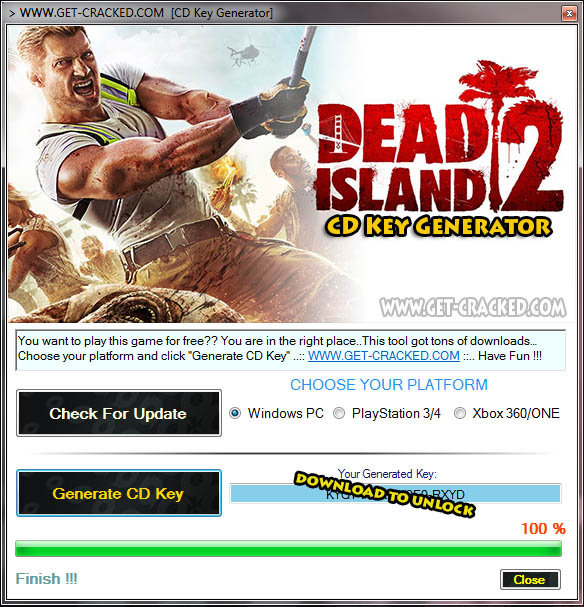Dead Island 2 cd key giveaway