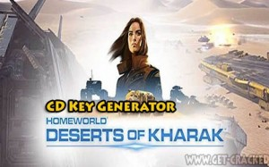 Homeworld Deserts of Kharak code generator