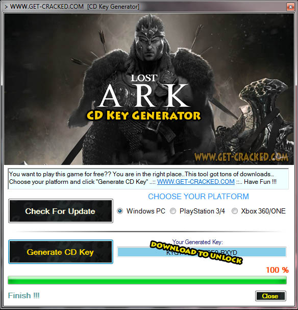Lost Ark cd key giveaway