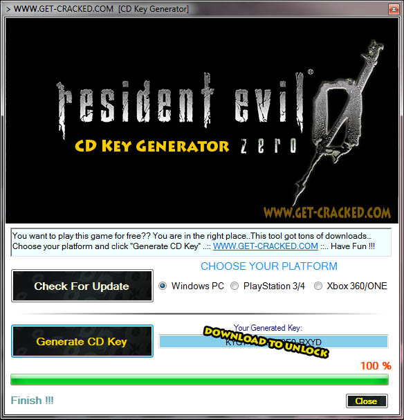 Resident Evil Zero cd key giveaway