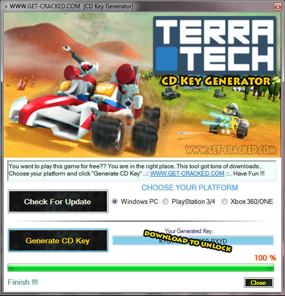 TerraTech cd Key giveaway