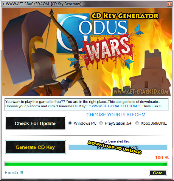 Godus Wars cd key giveaway