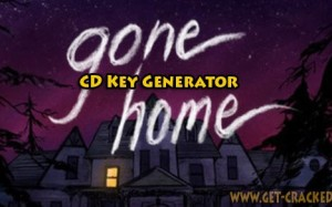 Gone Home CD Key Generator 2016