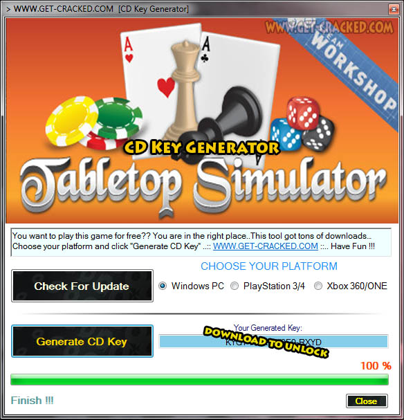 Tabletop Simulator cd key giveaway