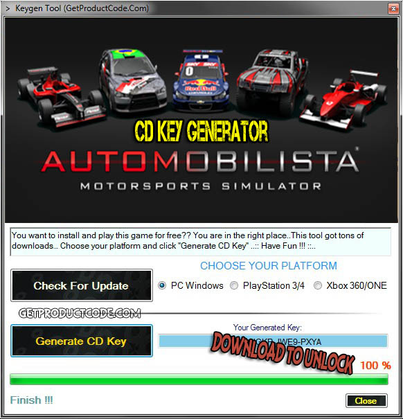 Automobilista cd key giveaway
