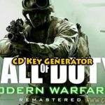 Kutsu tullin Modern Warfare Remastered Ilmainen cd avain