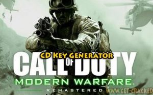 Call of Duty Modern Warfare remastered слободен клучни cd