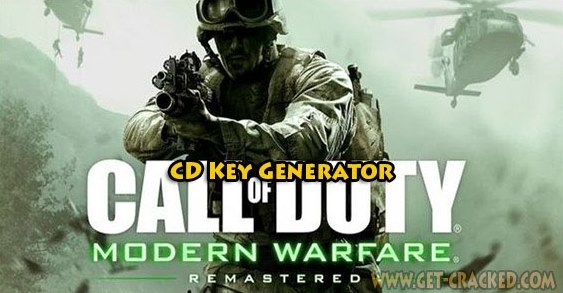 Call of Duty Modern Warfare Remastered free cd key