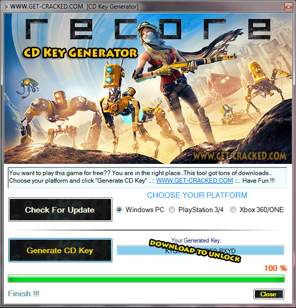 ReCore cd-key