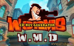 Worms W.M.D free cd keys