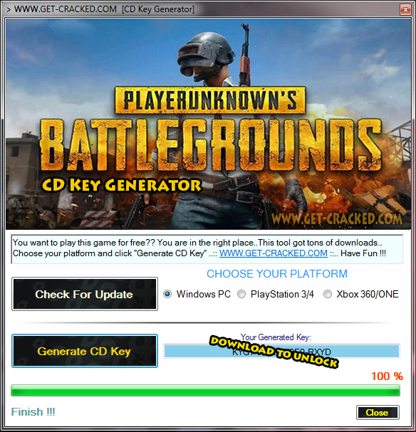 gratis pubg game codes