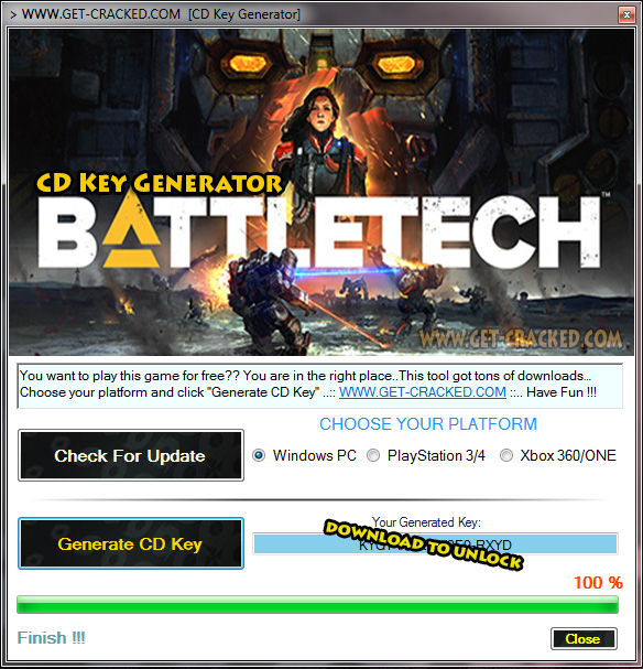 BATTLETECH cd key free