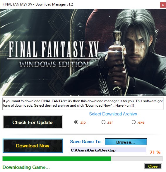 FINAL FANTASY XV cd key generator download