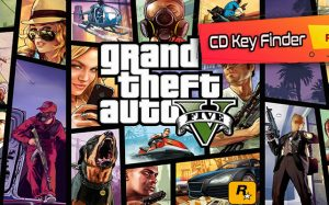 Grand Theft Auto V - CD Key Finder
